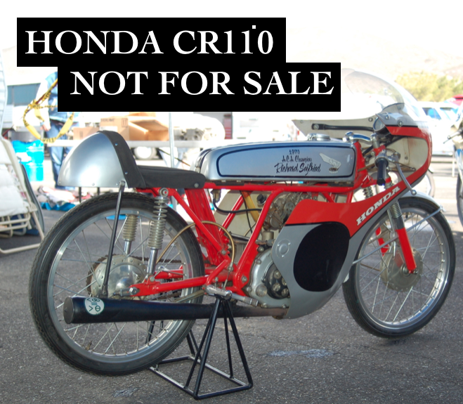 Honda CR110 Road Racer