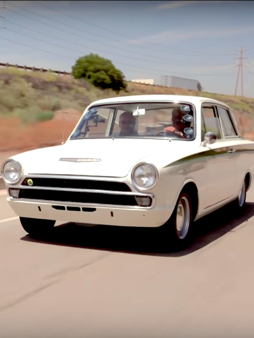 On The Web – Jay, Jim, and a Lotus Cortina