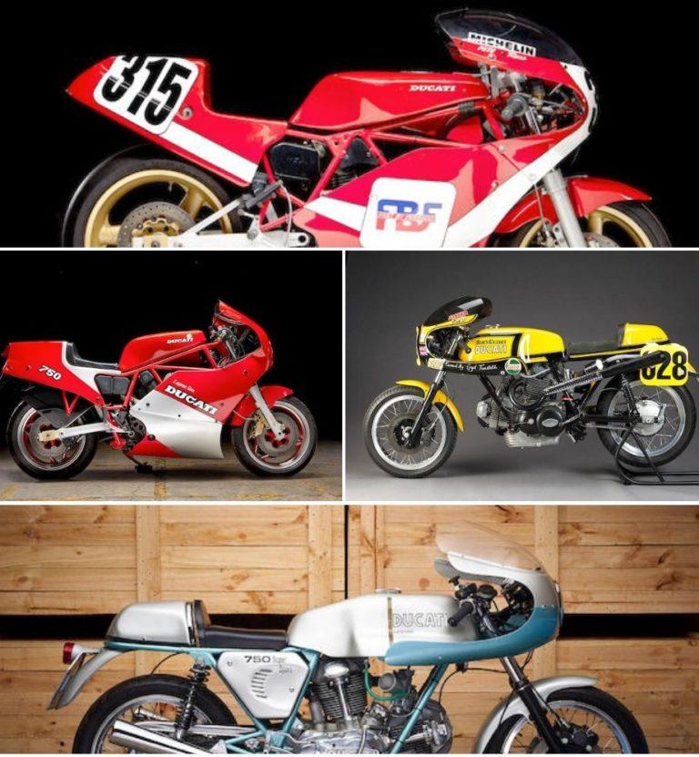 Four Extraordinarily Rare Ducati 750's