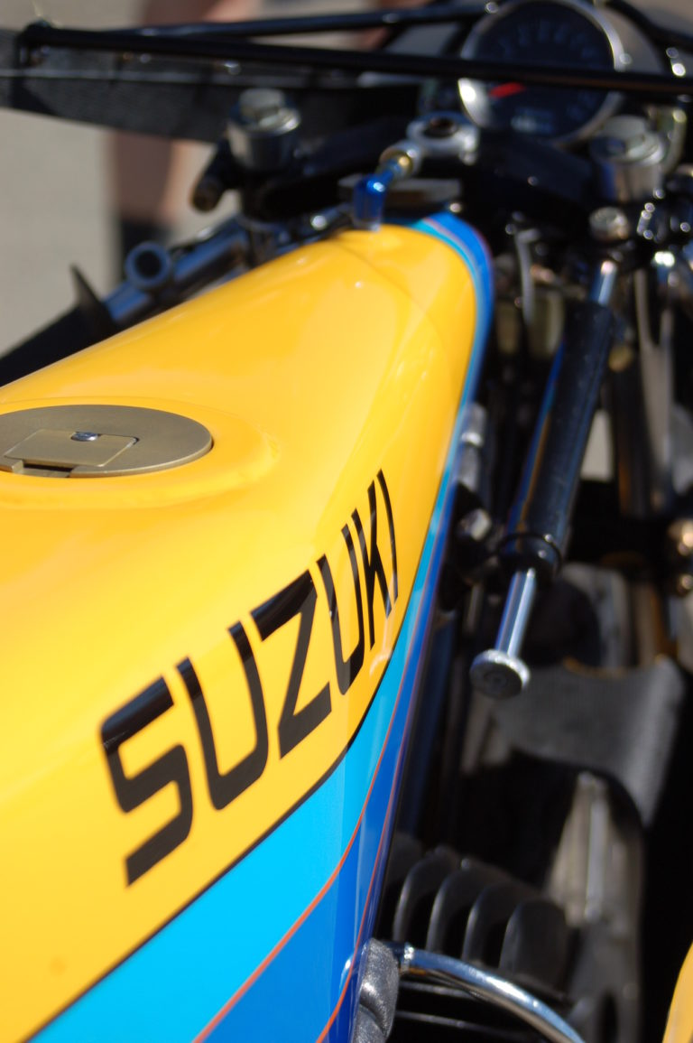 Lost In Time:  1979 Suzuki 125 GP Racer