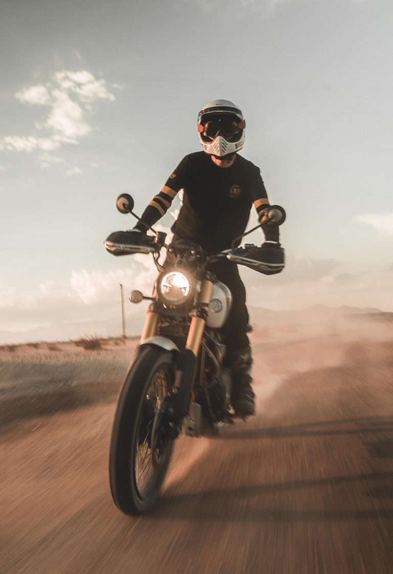 Triumph Scrambler 1200:  Back to Baja