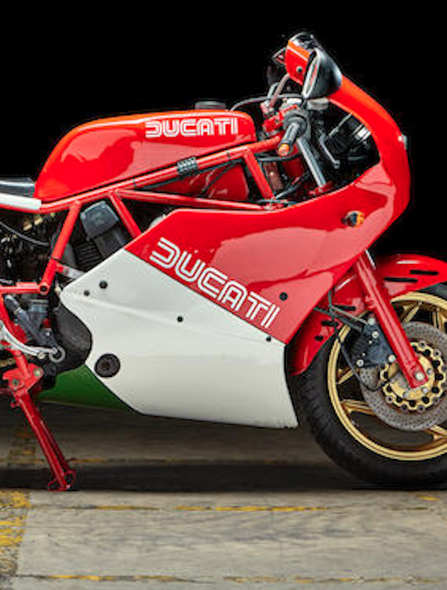 Updated:  5 x F1= 3,750cc's of 80's Ducati Goodness Up for Auction