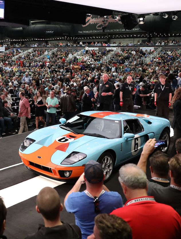 Barrett-Jackson Boasts $131.6 Million in Sales in Scottsdale