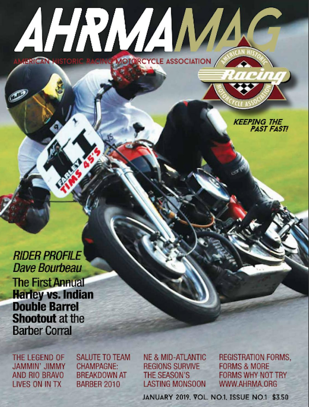 AHRMA MAG: Now Available Online