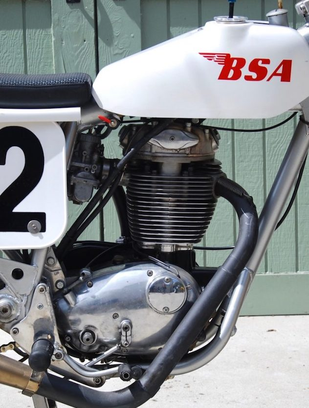1971 BSA B50 Flat Tracker