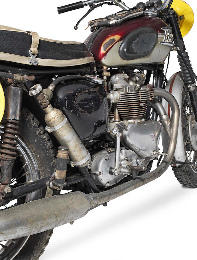 Bud Ekins 1962 Triumph TR6SS ISDT Bike